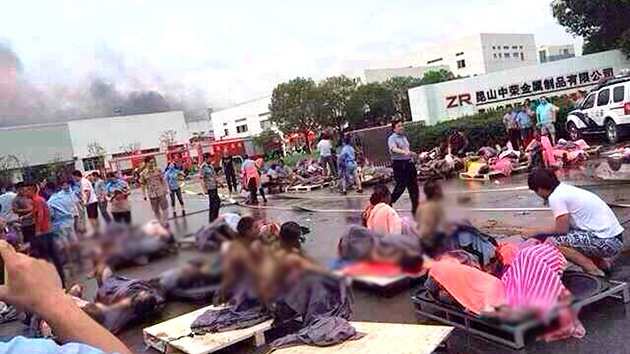 Una explosión en una fábrica en el este de China deja al menos 75 muertos