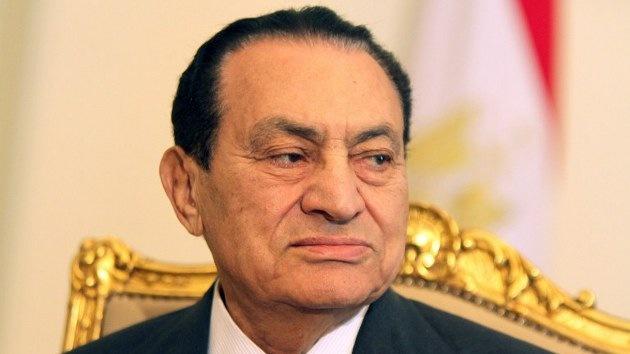 Mubarak sufre un ataque cardíaco