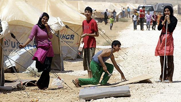"""Refugiado sirio: """"No teníamos ni comida ni agua. Ahora tengo aquí mi negocio"""""""
