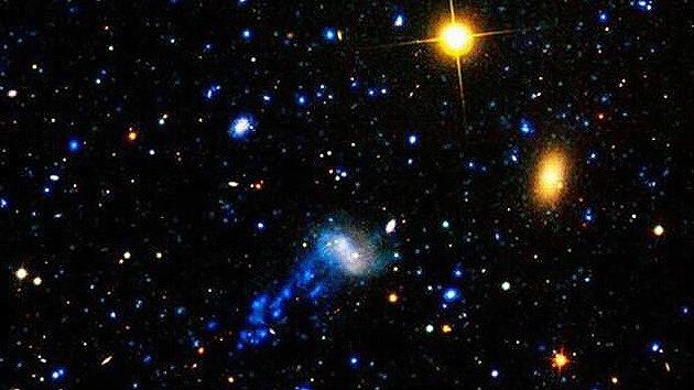Hallan seis galaxias 'medusa' gracias al Hubble