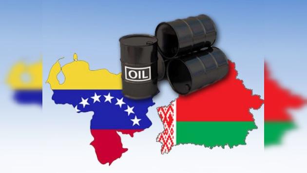 Chávez promete 30 millones de toneladas de crudo a Bielorrusia