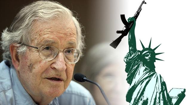 """Noam Chomsky: """"EE.UU. es el principal Estado terrorista en el mundo"""""""
