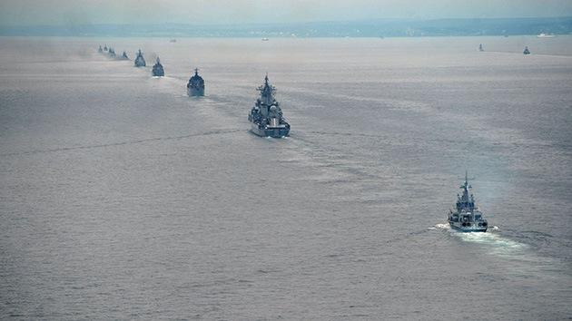 Marina rusa tendrá nuevos destructores a partir de 2020