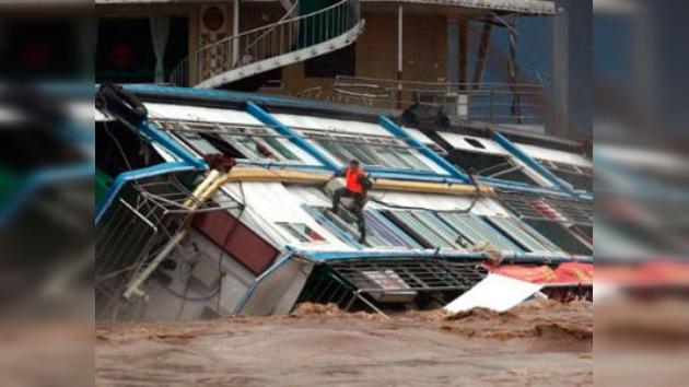 Un barco restaurante naufraga en China tras chocar con otra embarcación