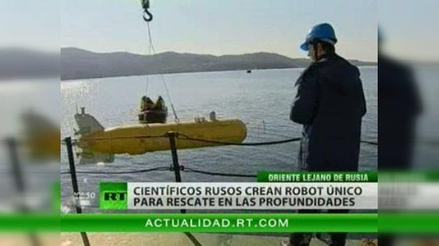 El 'robot-buzo', un invento sensacional de los científicos rusos