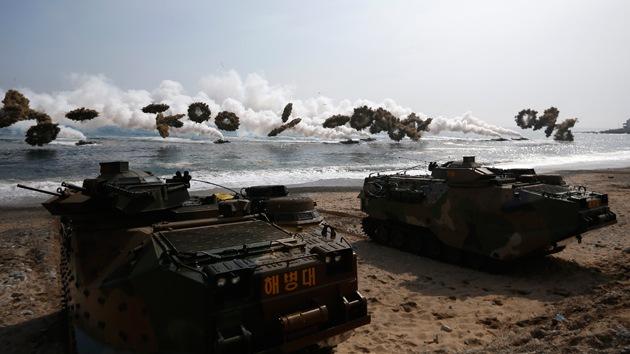 """""""Los ensayos de EE.UU. y Corea del Sur son una amenaza nuclear para Corea del Norte"""""""