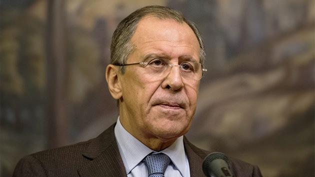 """Lavrov: """"La crisis de Ucrania podría haberse evitado"""""""