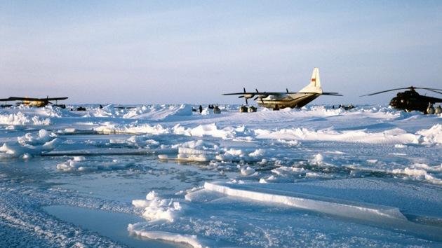 La Fuerza Aérea de Rusia aumenta su presencia en el Ártico