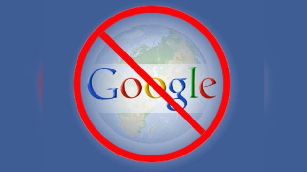 Bloquean los servicios de Google
