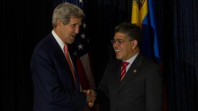 EE.UU. y Venezuela acuerdan iniciar un proceso de acercamiento