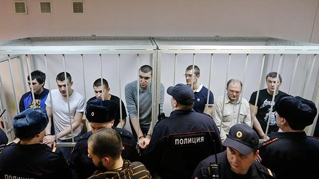 Condenan a 8 participantes en los disturbios masivos en Moscú