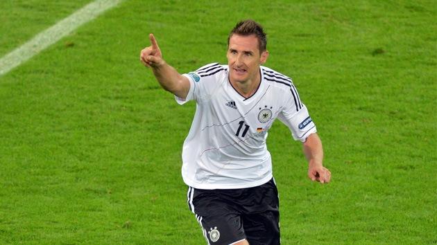 Miroslav Klose actuará de 'espía' en la semifinal de la Eurocopa contra Italia