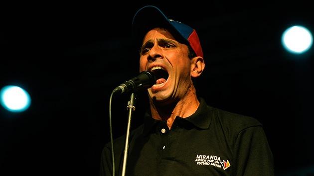 Henrique Capriles inscribe su candidatura para las presidenciales