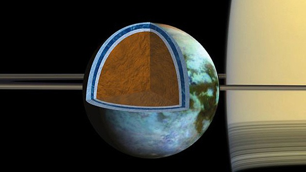 La mayor luna de Saturno podría parecerse al Mar Muerto
