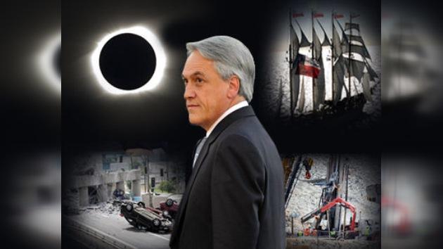 2010 un año agitado para Chile y su nuevo presidente Sebastián Piñera