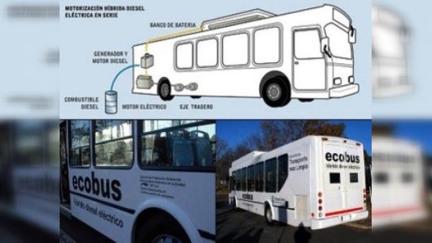 Presentan en Argentina el primer 'ecobus' porteño