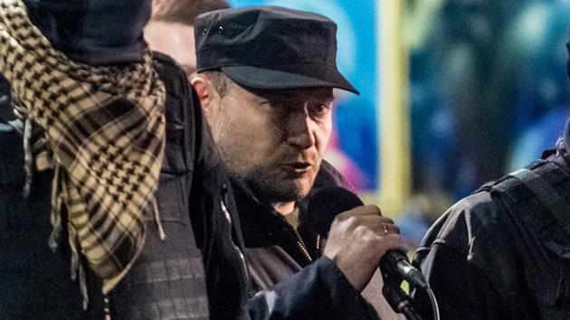 Procesan en Rusia al líder ultranacionalista ucraniano por incitar al terrorismo
