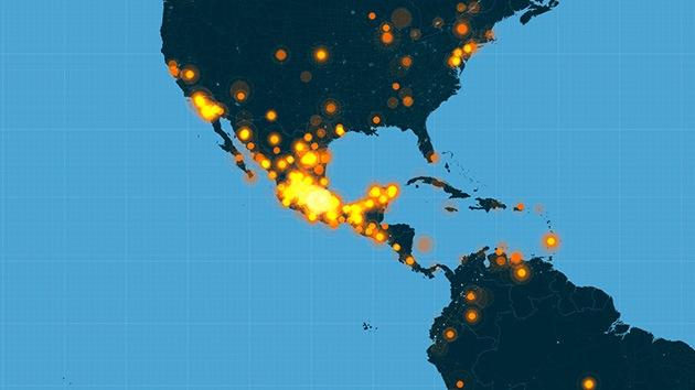 Mapa: La protesta mexicana del #YaMeCansé incendia las redes y da la vuelta al mundo