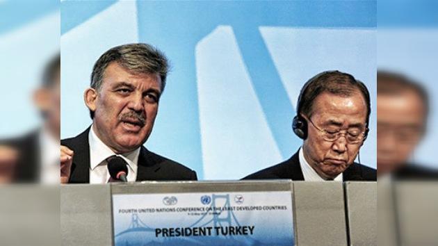 ONU inauguró en Turquía conferencia sobre los países menos desarrollados del planeta