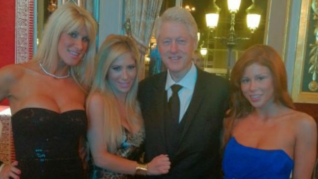 El porno arropa a Bill Clinton