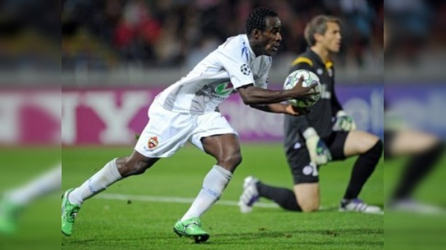Champions League: Doblete de Doumbia salva de la derrota al CSKA