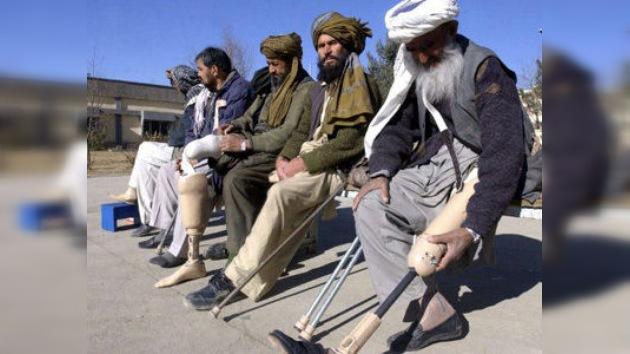 Minas que matan: millones de explosivos tapizan el suelo de Afganistán