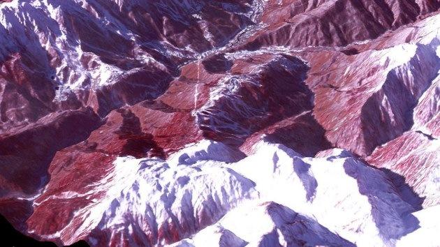1924-2014: Increíbles paisajes vistos desde las alturas de los anfitriones de los JJ.OO. de Invierno