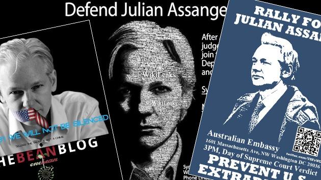 Un no global a la extradición de Assange
