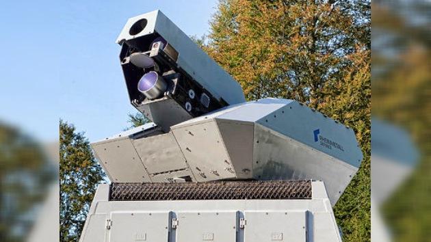 Muestran en acción un láser de alta potencia capaz de derribar drones