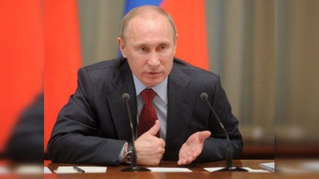 """Vladímir Putin: """"Ser fuertes es la garantía de la seguridad nacional para Rusia"""""""