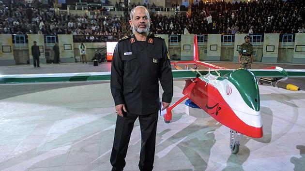 Irán presenta un nuevo 'drone' de combate
