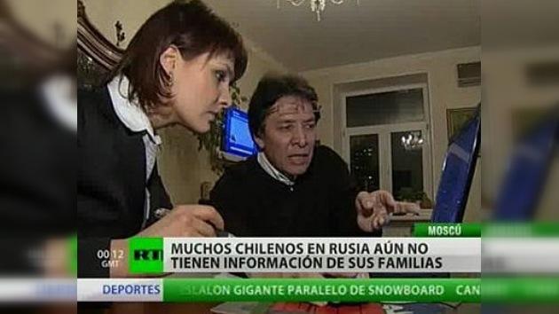 Centenares de chilenos en Rusia buscan información de sus familiares
