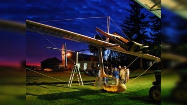 El aeromóvil de propulsión humana realizó su primer vuelo exitoso