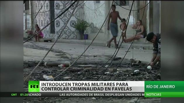 Brasil decide introducir unidades militares en Río de Janeiro