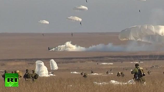 El Ejército ruso realiza maniobras de gran escala en el suroeste del país