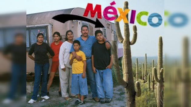 Los inmigrantes mexicanos regresan de la 'tierra de las oportunidades'