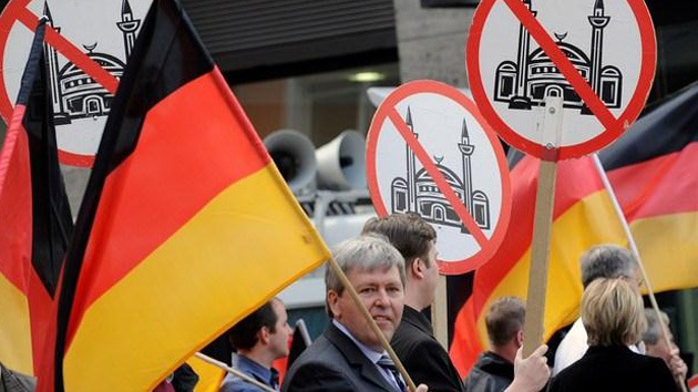 Berlín: Las caricaturas de Mahoma asoman la nariz en una manifestación anti-islámica