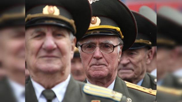 Imágenes de los veteranos de Gran Guerra Patria inmortalizados
