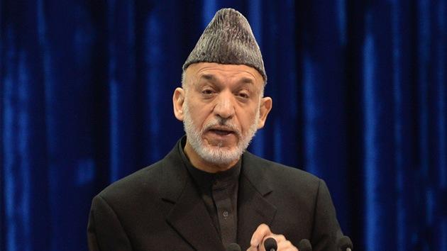 """Karzai: """"El asesinato de civiles por 'drones' de EE.UU. amenaza el acuerdo de seguridad"""""""