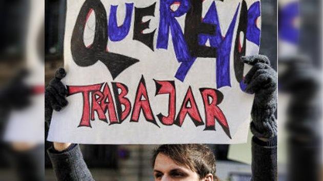 Los sindicatos españoles 'embisten' en la calle contra la reforma laboral