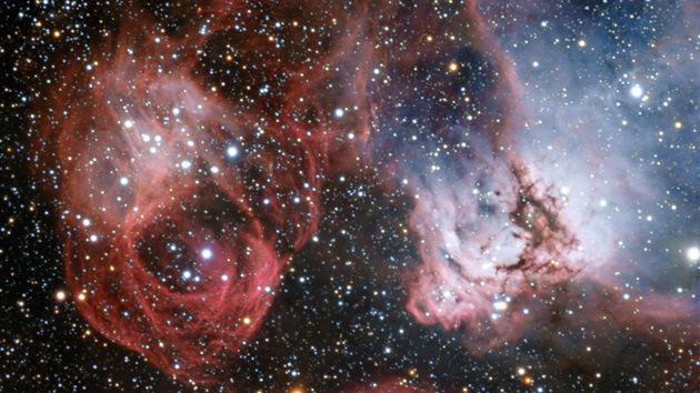 Fotos: Nacimiento y muerte de las estrellas en la Gran Nube de Magallanes