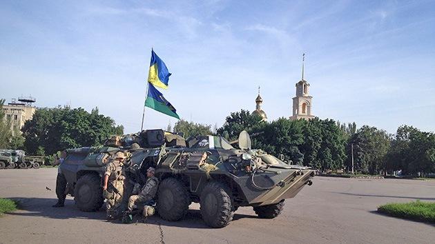 Las autoridades ucranianas detienen a todos los hombres de 25 a 35 años en Slaviansk