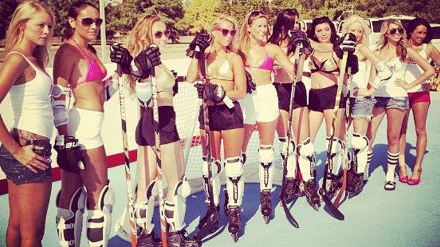 Nace la Bikini Hockey Liga para divertir a los hinchas durante el 'lockout' en la NHL