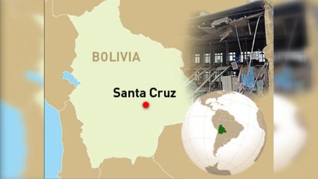 Al menos un muerto y 11 heridos tras el derrumbe de un edificio en Bolivia