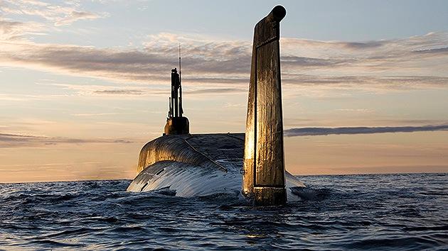 Submarinos nucleares rusos lanzan misiles de crucero durante maniobras en el este