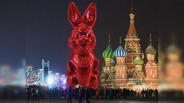 Los moscovitas comienzan a celebrar el Año Nuevo de la Liebre