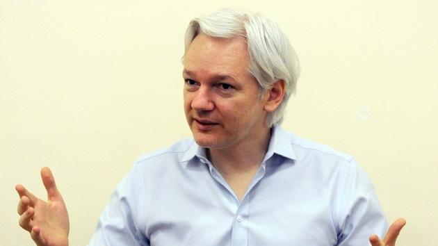 Julian Assange revela detalles de su vida en la Embajada de Ecuador