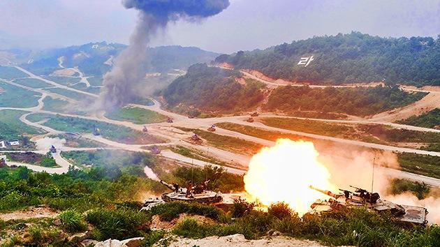 VIDEO: EE. UU. y Corea del Sur realizan los ejercicios militares más grandes de su historia