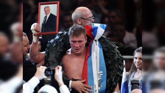 El ruso Povetkin, campeón de los pesos pesados de la WBA