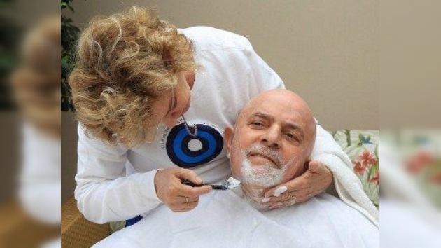 Lula da Silva se quita el cabello al inicio de su segundo ciclo de quimioterapia